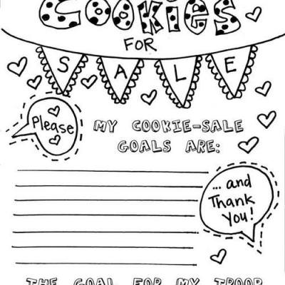 Girl Scout Cookie Sales Printable {Girl Scouts}