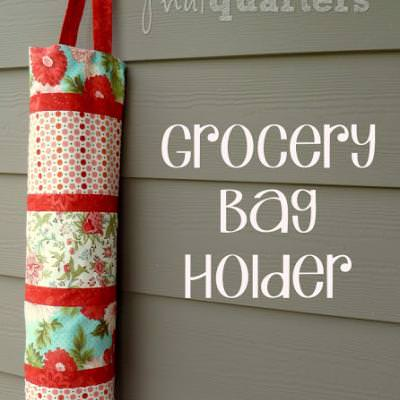 Grocery Bag Holder {how-to}