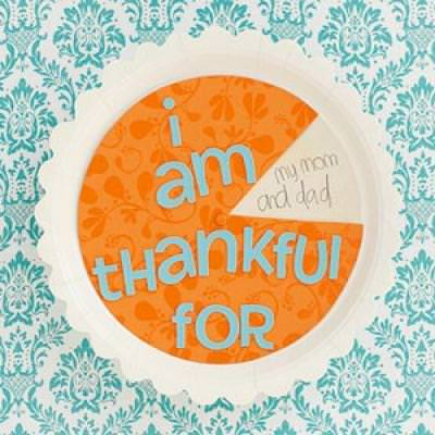 Pumpkin Pie Spinner {Thanksgiving Kids Craft}