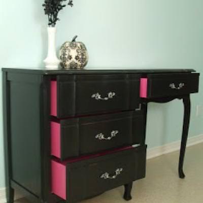 Transforming Old Furniture with Paint {Chests and Consoles}